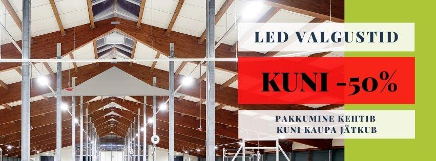 LED valgustid est